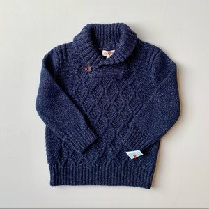 Cat & Jack Baby Boy Navy Sweater